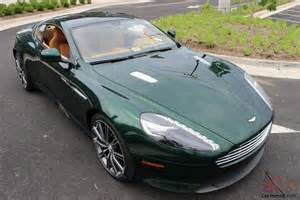 Aston Martin Green 2014 Aston Martin Db9 Rover Racing Green