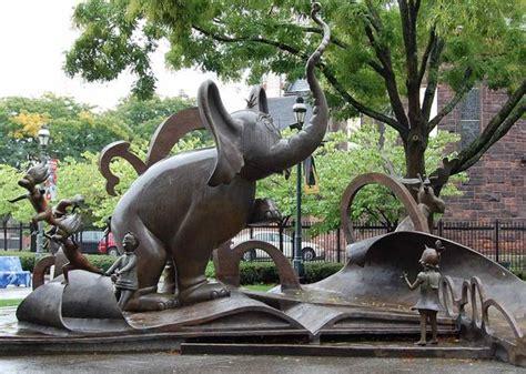 National Sculpture Garden by Dr Seuss National Memorial Sculpture Garden Springfield Museums Massachusetts By Lark Grey