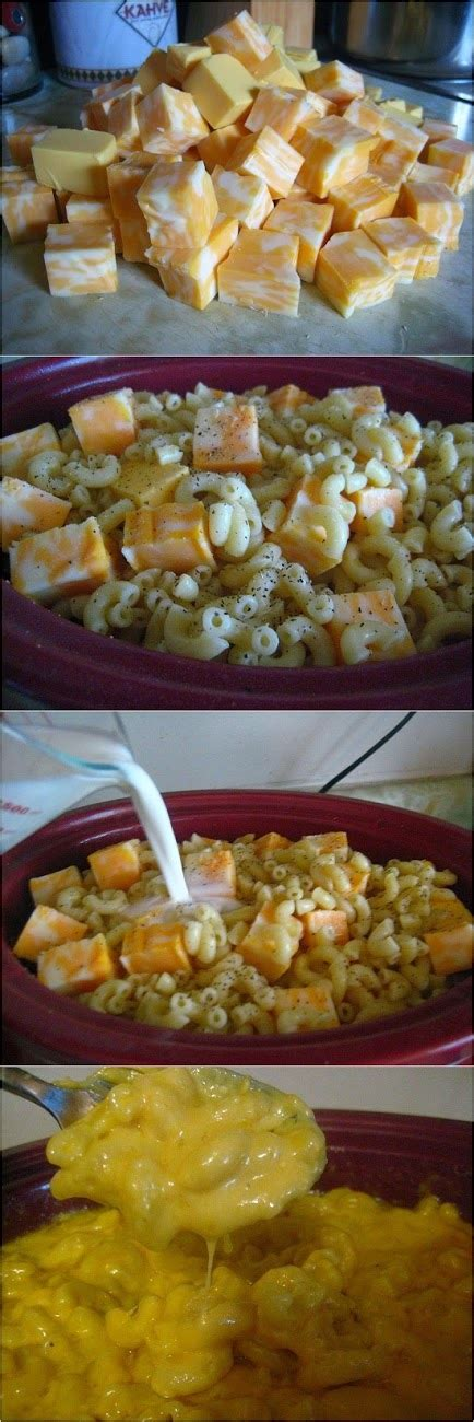 crock pot macaroni and cheese food