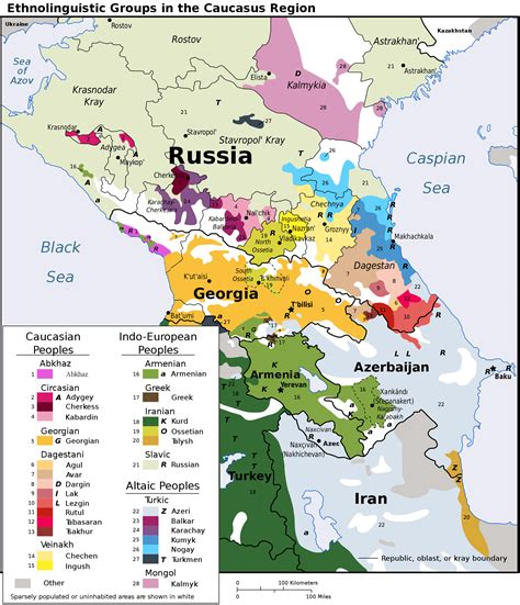 russia and the caucasus map quiz europe what are the reasons of the ethnical