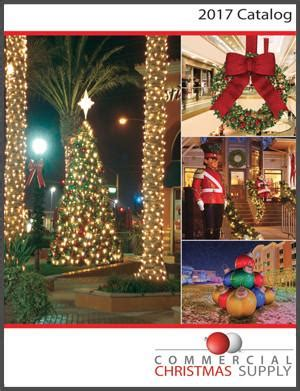 commercial christmas decorations catalog commercial