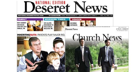 deseret news church section image gallery lds church news newspaper