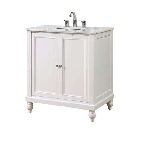 direct vanity sink classic 32 in vanity in pearl white