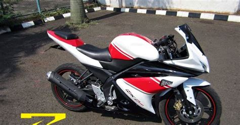 Lu Hid Motor Nvl zigmodify custom bike fairing r125 vario type yamaha