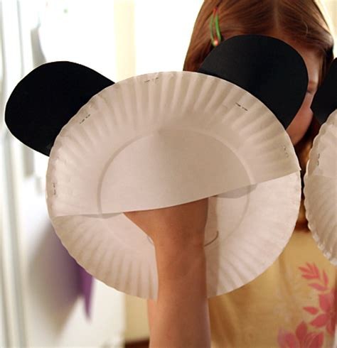 paper plate puppets templates paper plate panda puppets let s explore