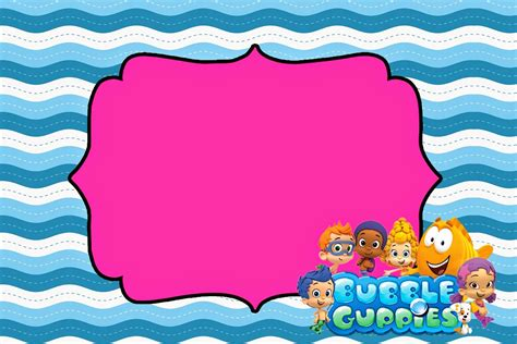 bubble guppies free printable invitations is it for