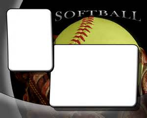 Softball Design Templates by Softball Photo Templates
