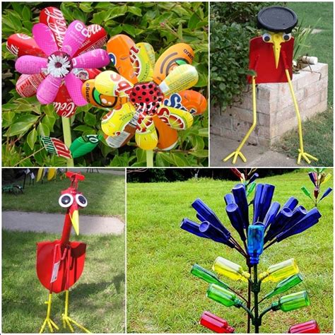 5 Amazing Garden Ideas From Recycled Materials Idees