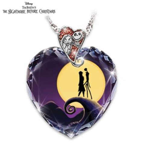 Bradford Exchange Home Decor by Tim Burtons The Nightmare Before Christmas Pendant Necklace
