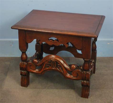 oak jacobean style coffee table antiques atlas
