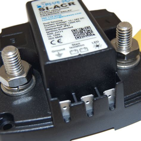 SI ACR Automatic Charging Relay   12/24V DC 120A   Blue