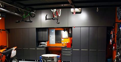 and black garage cabinets nashville garage cabinet ideas gallery garage solutions llc