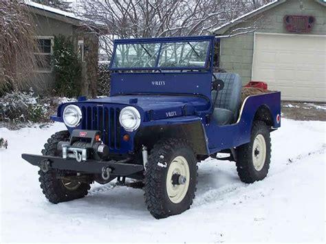 vintage jeep alaska or rust vintage jeep caravan on alaska highway