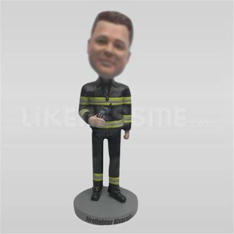 bobblehead your likeness custom fireman bobbleheads buy custom fireman bobbleheads