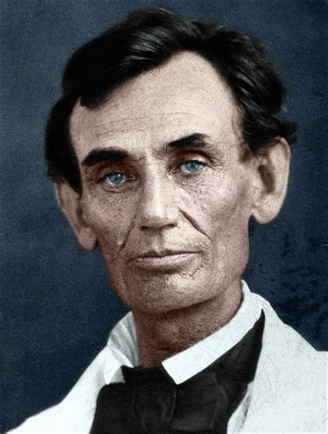 what color was abraham lincoln abraham lincoln in color flickr photo