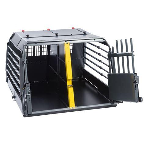 gabbie auto per cani alluminio variocage maximum gabbia trasporto cani in auto