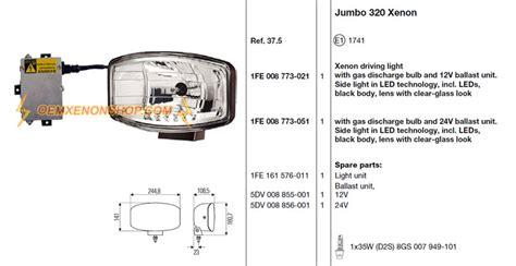 led leneinsatz jumbo 320 xenon