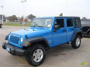 2011 jeep wrangler unlimited sport 4x4 in cosmos blue