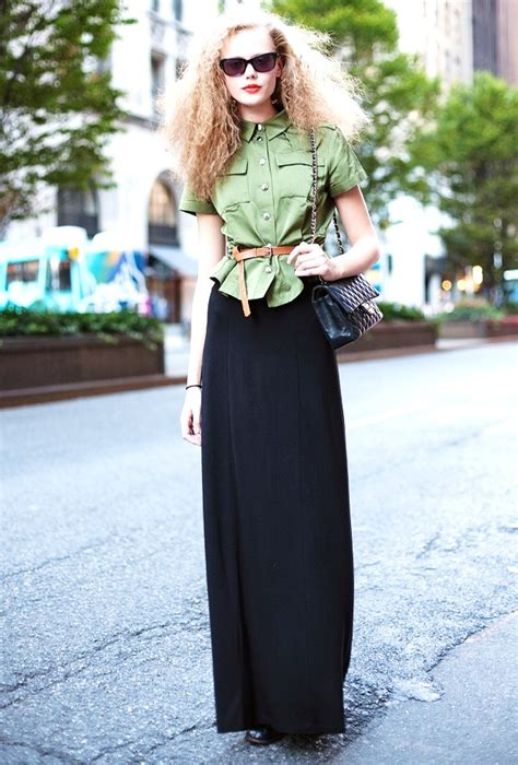 7 ways to wear your maxi skirt in fall fashion