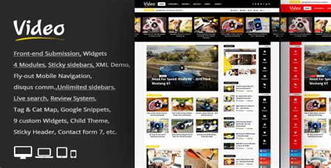 newspaper theme wordpress nulled video news v1 2 wordpress magazine newspaper theme