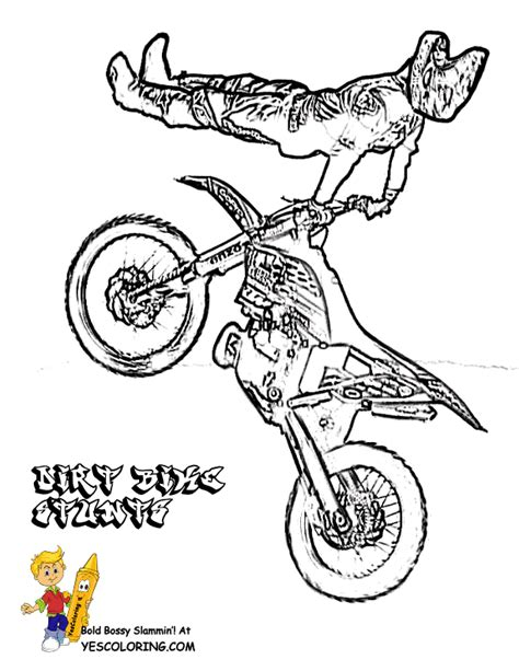 motocross free coloring pages art coloring pages