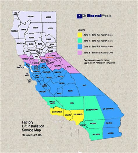 california zip code bendpak rangerliftinstallprices