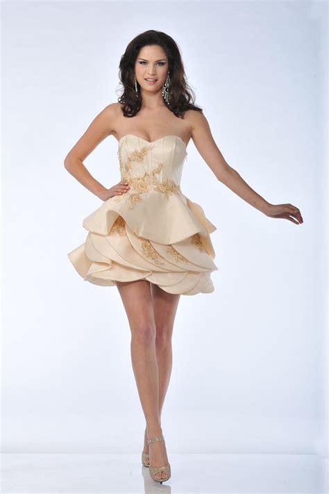 pattern homecoming dress cd5810 strapless beaded pattern detachable prom dress
