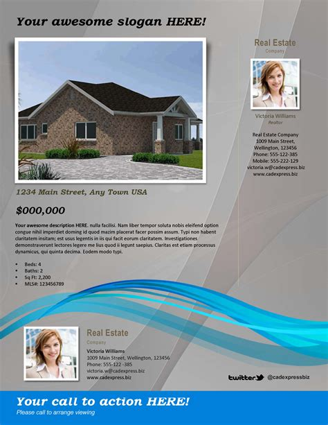25 awesome professional real estate brochures kyrie1shoes com