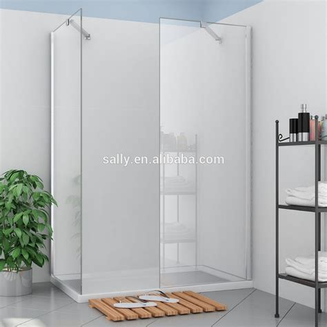 Frameless Shower Door Glass Thickness 8mm Glass Thickness Frameless Shower Wall Glass Panels F002 1 Buy Without Door Shower Panels