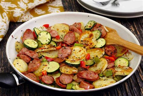 italian sausage potato quick skillet recipe paleo newbie