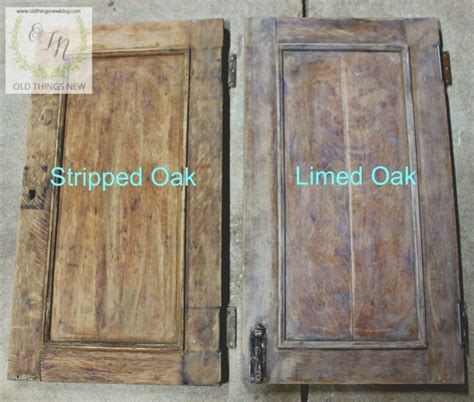 Limed Oak Kitchen Cabinet Doors Liming Oak Cabinets Before And After Mf Cabinets