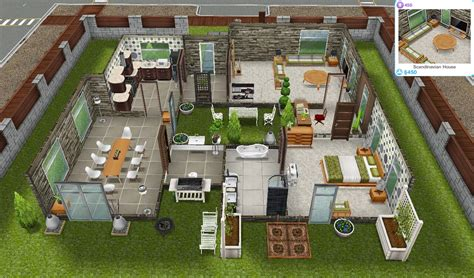 home design for sims freeplay sims freeplay quests and tips the scandinavian house