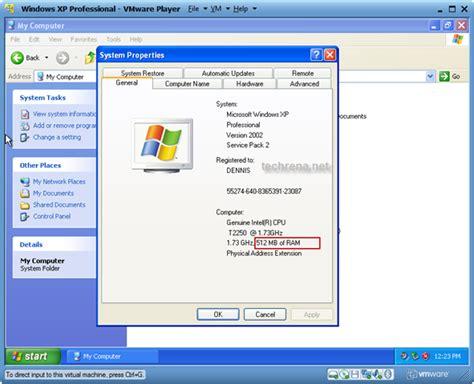 xp setup virtual directory install windows xp virtual pc in windows 7 using vmware