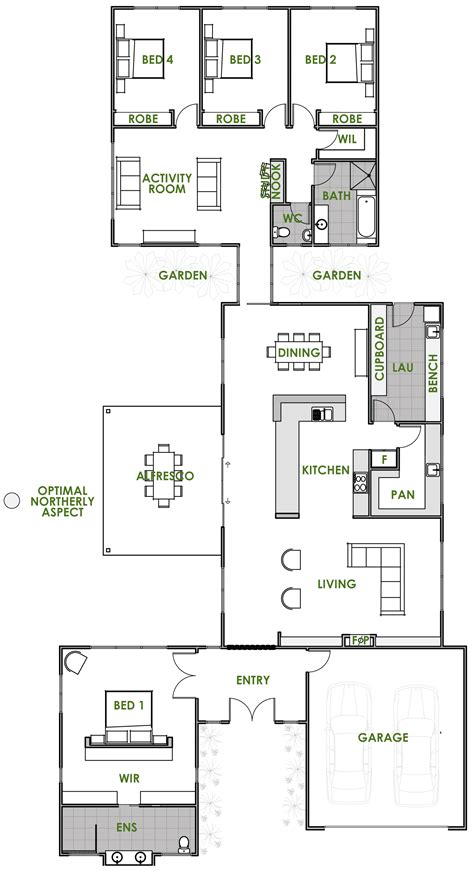 small efficient home plans floor plan friday an energy efficient home chambers