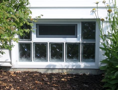 glass block basement windows basement st louis by