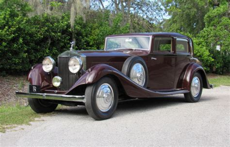 rolls royce sport coupe 1933 rolls royce phantom ii continental sport saloon for