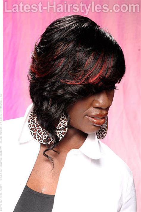 places in portland who does weave for black women red highlights asymmetrical bob places to visit