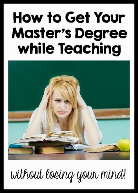 How To Teach Your To Stay The by Best 25 Master S Degree Ideas On