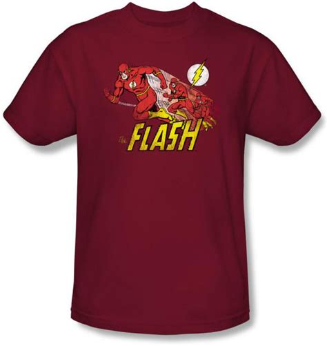 Buy A Rnd T Shirt To Support Comic Relief by The Flash T Shirt Crimson Comet Dc Comics Cardinal