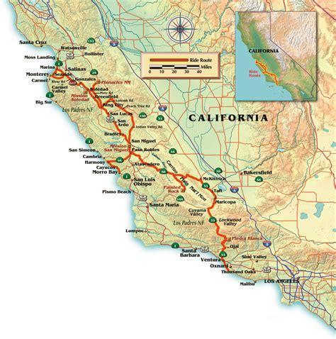 salinas river california map map of salinas california california map