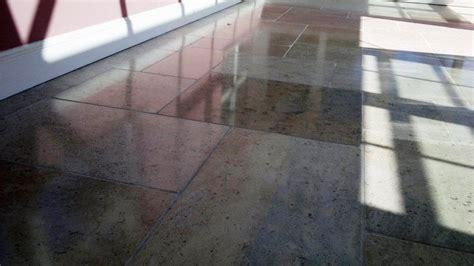 Cleaning & Polishing Granite Floor Tiles in Fareham   Tile