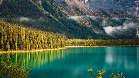 emerald lake bing wallpaper