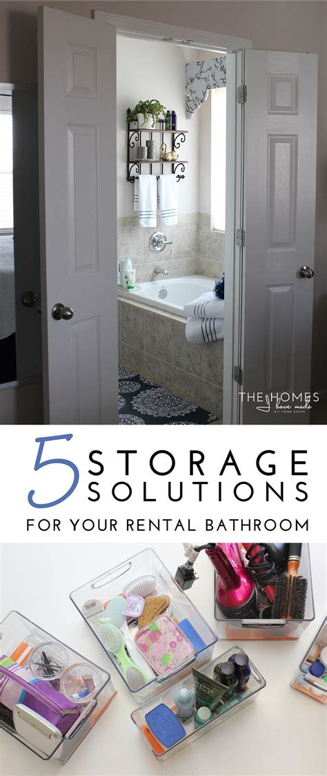 five great bathroom storage solutions storage solutions bathroom five great bathroom storage