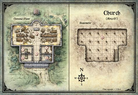Winery Floor Plans mike schley curse of strahd curse of strahd church