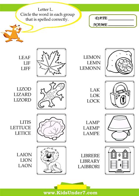 l words coloring page letter l coloring pages of alphabet words for kids