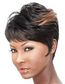 hairstyles with color for black beautiful short hairstyles for black women short
