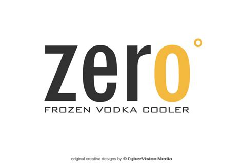 zero design logo zero degrees cybervision media mississauga toronto
