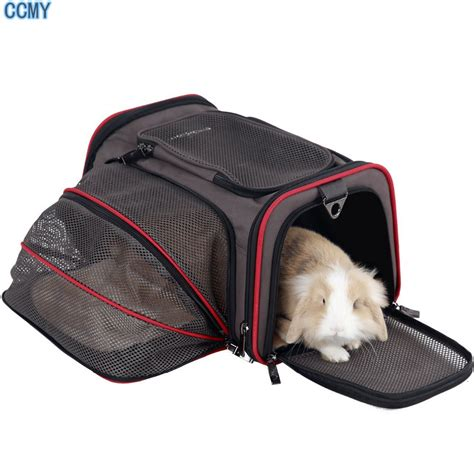 Pet Carrier Pet Cargo Size S free shipping expandable foldable washable travel carrier