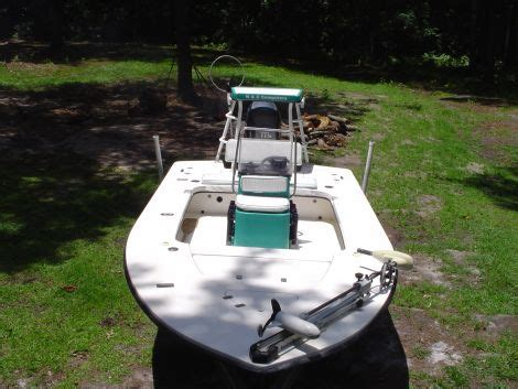flats boats for sale in sc 2004 17 foot custom hull flats boat fishing boat for sale