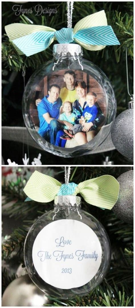 Handmade Photo Ornaments - 70 diy ornaments ideas